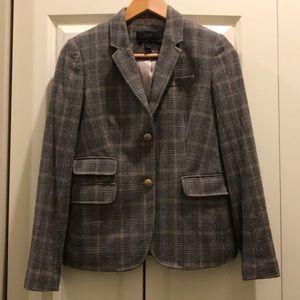 J Crew Schoolboy plaid blazer size 4